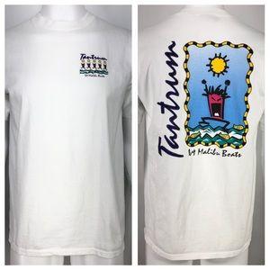 Vintage Malibu Boats Tantrum L Shirt 90's Boating